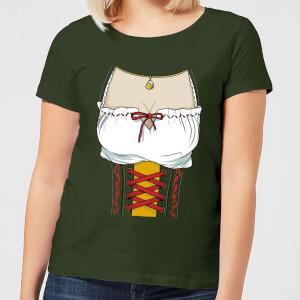 Oktoberfest Chest Women's T-Shirt - Forest Green