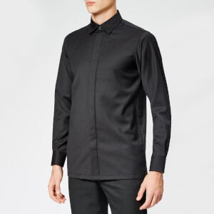 Matthew Miller Men's Cahir Merino Wool Shirt - Black