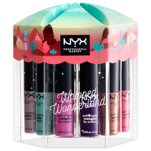 NYX Professional Makeup Whipped Wonderland Soft Matte Metallic Lip Cream Vault