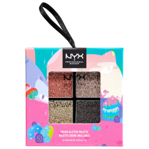 NYX Professional Makeup Sprinkle Town Cream Glitter Palette - Metallics