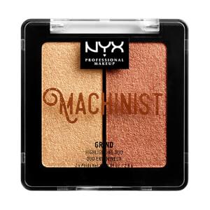NYX 机械大师系列双色高光粉 | 沙土金 & 玫瑰金