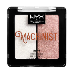 Duo Iluminador Metalizado Machinist da NYX Professional Makeup - Ignite