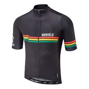 Morvelo Lion Short Sleeve Jersey - Black