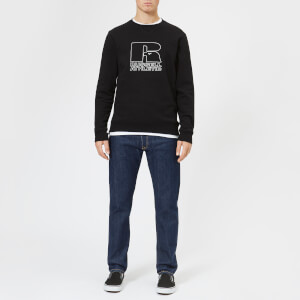 Russell Athletic Men's Antwon Crew Neck Sweatshirt - Black