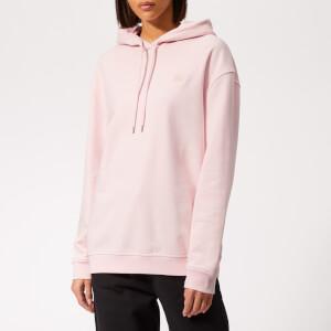 McQ Alexander McQueen Women's Boyfriend Hoody - Post it Pink