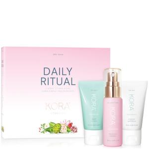 Kora Organics Daily Ritual Kit - Dry