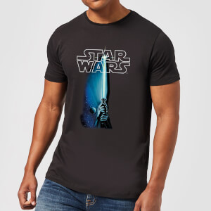 Star Wars Lightsaber Men's T-Shirt - Black