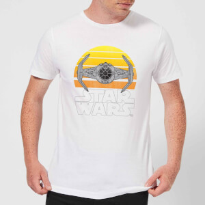 Star Wars Sunset Tie Men's T-Shirt - White
