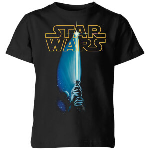 Star Wars Lightsaber Kids' T-Shirt - Black