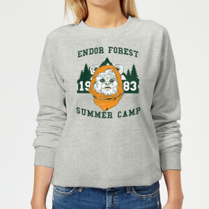 Star Wars Endor Camp Women's Sweatshirt - Grey
