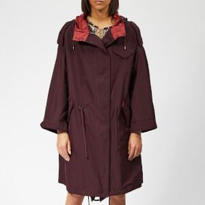 Isabel Marant Étoile Women's Duano Coat - Burgundy