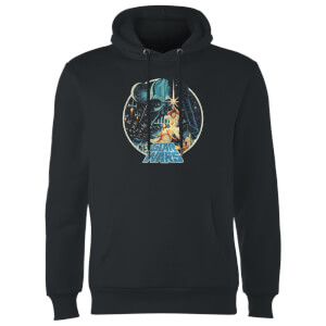 Star Wars Vintage Victory Hoodie - Black