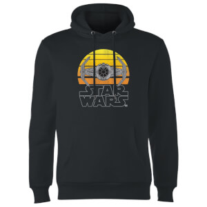 Felpa con cappuccio Star Wars Sunset Tie- Nero