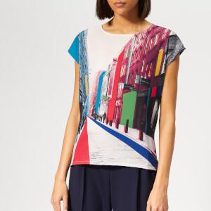 80ecb820c9 PS Paul Smith Women s Floral St T-Shirt - Multi