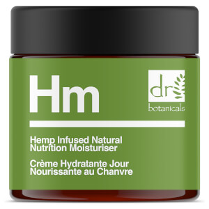 Dr Botanicals Apothecary Hemp Infused Natural Nutrition Moisturiser 50ml