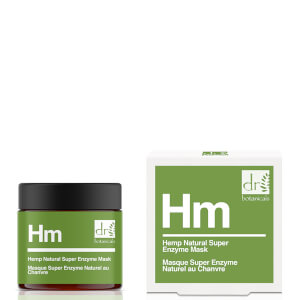 Dr Botanicals Apothecary Hemp Infused Super Natural Enzyme Mask 50ml