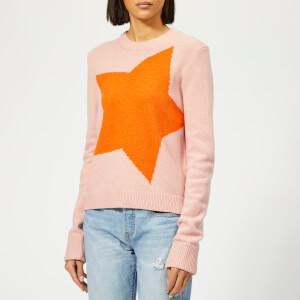 PS Paul Smith Women's Star Jumper - Pink
