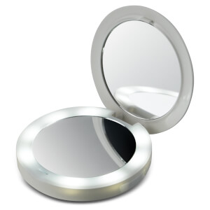 Miroir Compact et Batterie Externe Pretty and Powerful HoMedics