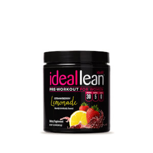 IdealLean Preworkout - Strawberry Lemonade