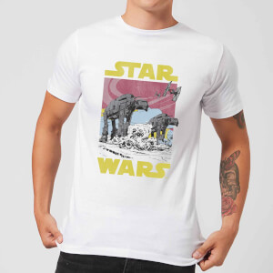 Star Wars ATAT Men's T-Shirt - White