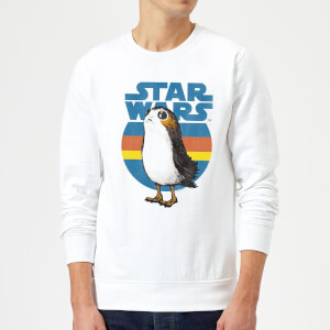 Star Wars Porg Sweatshirt - White