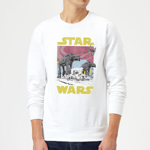 Star Wars ATAT Sweatshirt - White
