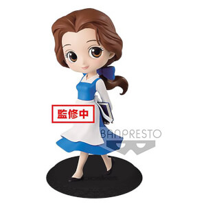Disney – Figurine Banpresto Q Posket – La Belle et la Bête – Belle Country Style – 14 cm (Normal Colour Version)