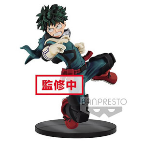 Banpresto The Amazing Heroes My Hero Academia Midoriya Figure 14cm