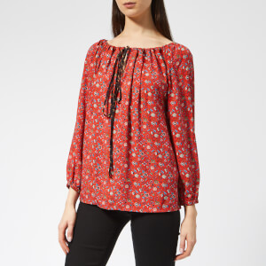 Vivienne Westwood Anglomania Women's Gypsy Blouse - Red