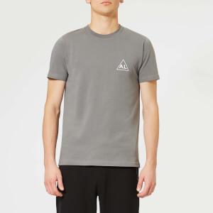 Avant L'Oeil Men's Breast Logo Basic T-Shirt - Grey