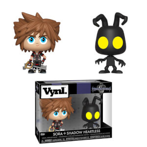 Sora & Heartless Kingdom Hearts Funko Vynl.