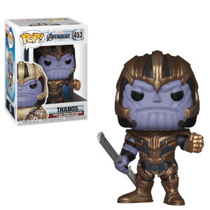 Marvel Avengers: Endgame - Thanos Figura Pop! Vinyl