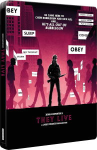 They Live 4K Ultra HD & Blu-ray Zavvi UK Exclusive Steelbook