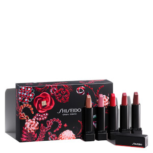 Shiseido Expressive Deluxe Mini Modern Matte Powder Lipstick Set (Worth £56)