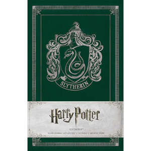 Slytherin Crest Hardcover Ruled Journal