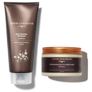 Grow Gorgeous Intense Mask and Shampoo Duo (Worth £44)