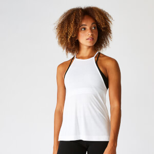 Myprotein Move Vest - White
