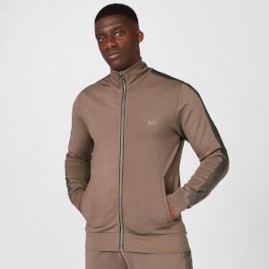 Myprotein Icon Zip Up Jacket - Driftwood