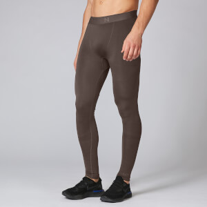 Elite Seamless Tights - Gråbrun
