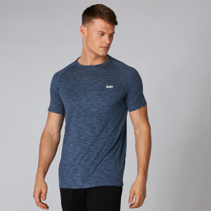 Performance T-Paita - Dark Indigo Marl