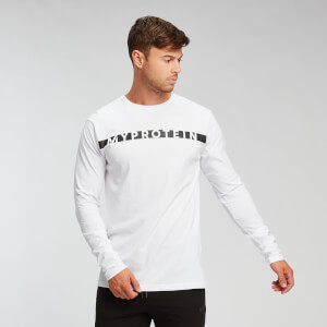 MP Men's The Original Long Sleeve T-Shirt - White