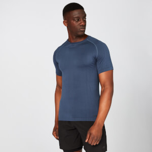 Elite Seamless T-Shirt – Indigo Blau