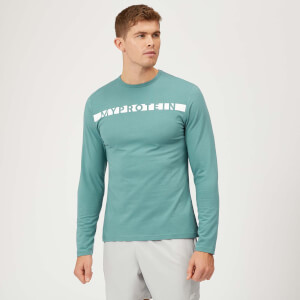 Myprotein The Original Long Sleeve T-Shirt - Airforce Blue