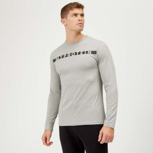 Myprotein The Original Long Sleeve T-Shirt - Grey Marl