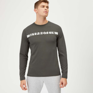 Myprotein The Original Long Sleeve T-Shirt - Slate