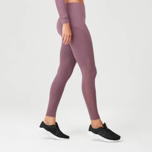 Power Mesh Leggings - Mauve