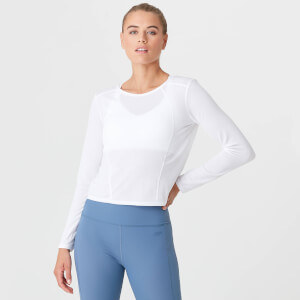 Myprotein Dry Tech Long Sleeve T-Shirt - White