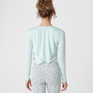 Spring Long-Sleeve T-Shirt – Blue