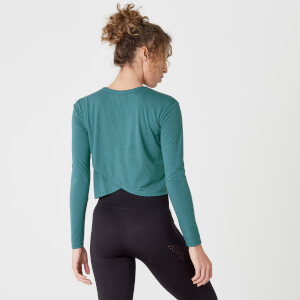 Myprotein Spring Long-Sleeve T-Shirt – Teal Green