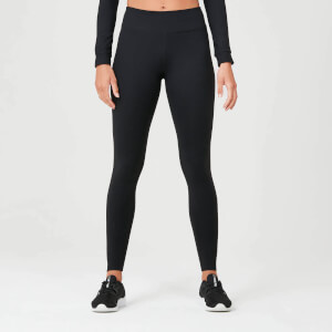 Power Leggings - Fekete